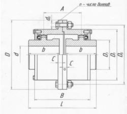 Технические характеристики муфты МЗ