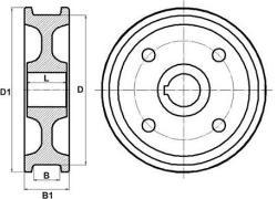 Крановое колесо