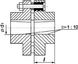 Конструкция муфты втулочно -пальцевой