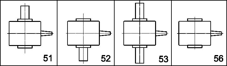 Схема сборки червячного